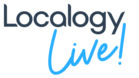 Localogy Live! Logo - Vodcasts, Podcasts + Insights