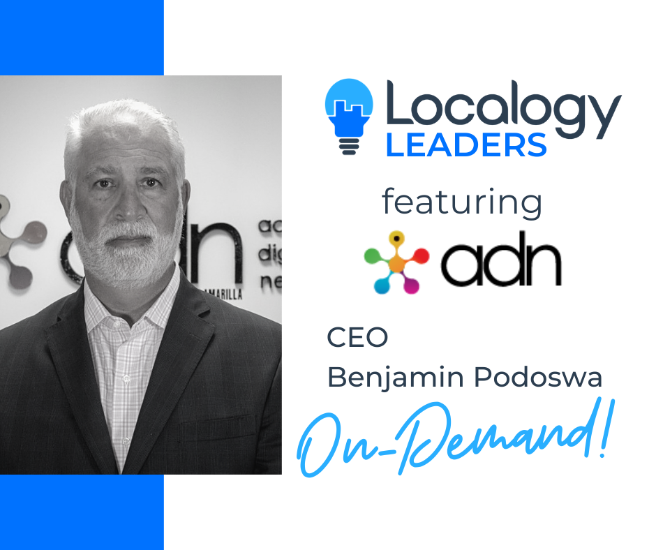Localogy Leaders: Benjamin Podoswa of ADN Sección Amarilla